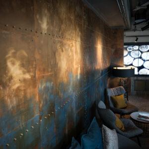 1st floor coffee bar at Novotel, Canary Wharf.